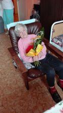 90. narodeniny p. Hlubiková