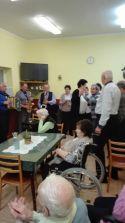 Rozlúčka so starým rokom s dôchodcami Lednických Rovní